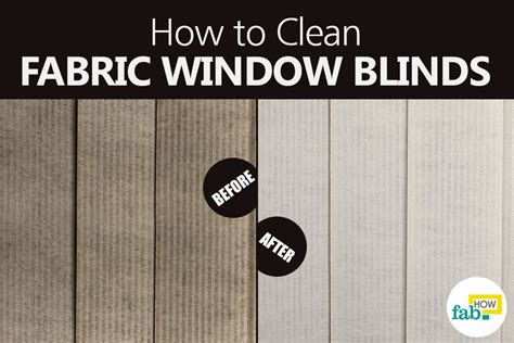 how to clean l shades how to clean fabric window blinds the easy way fab how