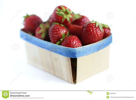 bio cuisine bio food strawberries stock photography image 2533102