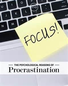 Fear of Failure Procrastination