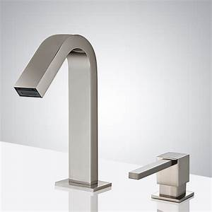 Brushed Nickel Bathselect Commercial Infrared Automatic