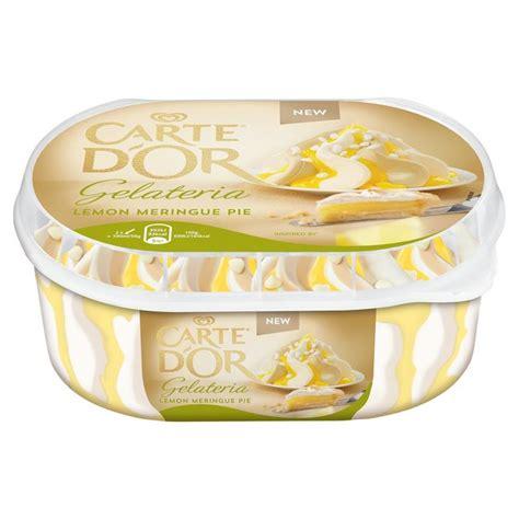 carte d or dessert carte d or gelateria lemon meringue pie dessert 900ml from ocado