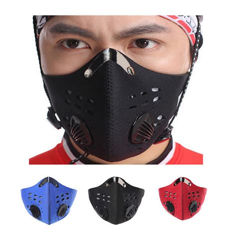 Half Face Mask Anti Dust Pollution Filter Cycling