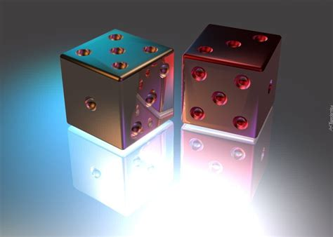 dwie kostki  gry