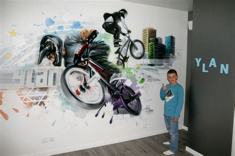 chambre moto deco chambre ado garcon moto