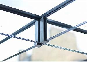 Beam To Beam Cross Connection With A Hanging Stainless