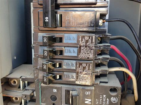 Electrical Using Amp Tandem Circuit Breaker For