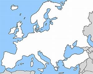 Countries Of Europe Without Outlines Quiz