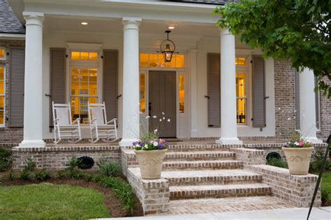 lighting inc new orleans traditional front porch traditional porch new