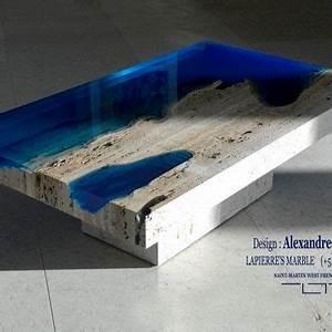 Table Resine Bois : la table par alexandre chapelin design pinterest table table design et mobilier ~ Teatrodelosmanantiales.com Idées de Décoration