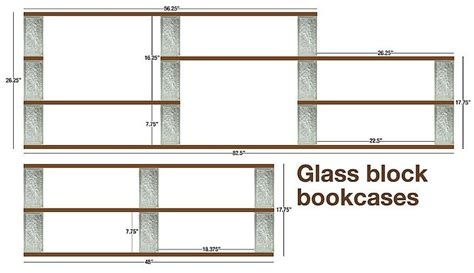 glass block shelving   fountain front  gave