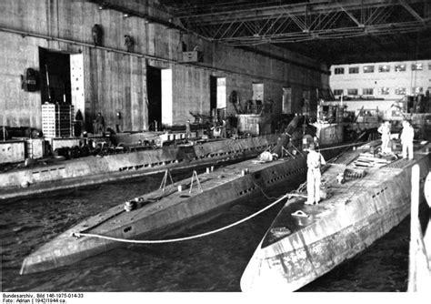 German U Boat Pens Brest by 2 November 1944 A U Boat Captain Returns To Bombed Out