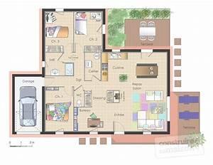 emejing plan de maison de luxe moderne contemporary With plan des maisons modernes