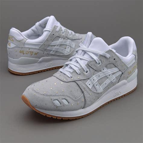 womens shoes asics gel lyte iii white hfl