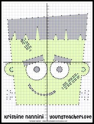 Christmas Coordinate Plane Graphing Worksheets  Graphing Worksheets For Practiceordered Pairs