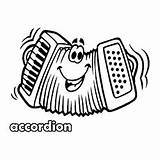 Coloring Drawing Momjunction Accordion Action Ones Wonderful Clipartmag sketch template