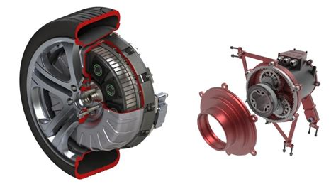 Development Of Wheel Hub Motor Drive Application In