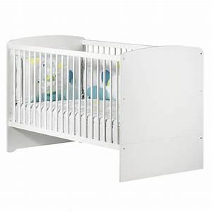 Lit Bebe Blanc : lit b b volutif little big bed 70x140cm blanc de baby price sur allob b ~ Teatrodelosmanantiales.com Idées de Décoration