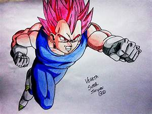 Vegeta Super Saiyan God by acidpadua on DeviantArt