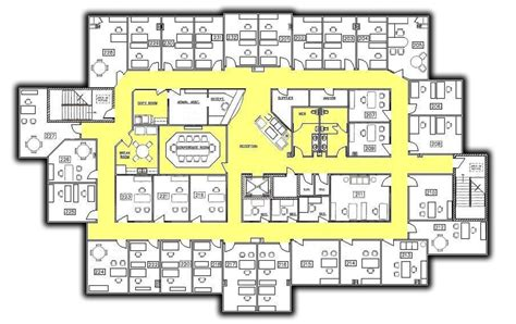 executive office suite floor plan village suites house plans