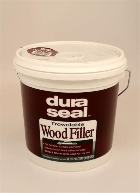 Dura Seal White Oak Trowelable Wood Filler Gallon