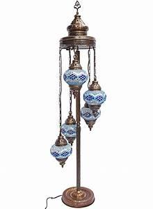 Mosaic lamps turkish lamp moroccan lamps floor lamps for Floor lamp mosaic wood