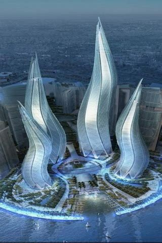 dubai towers asia uae iphone wallpaper mobile