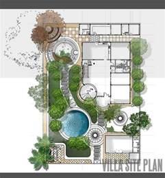 villa plans villa site plan design landscape architecture design villas and site plans