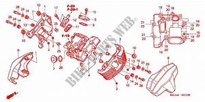 Front Cylinder Head Cover For Honda Vtx 1300 R 2005