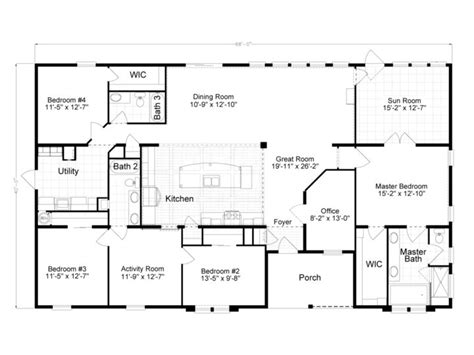 2500 Sq Ft Modular House Plans Single Story