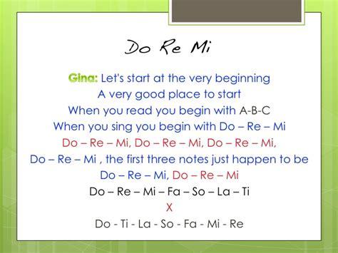 Let's see if i can make it easy. Do Re Mi from The Sound of Music - LYRICS - Super Specialists