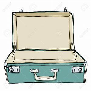 Suitcase Coloring Page Clipart | Free download best ...