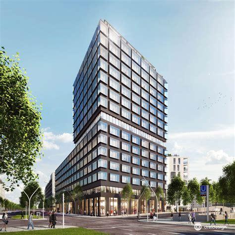Buerohaus In Hamburg by B 252 Rohaus Dreidesign