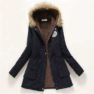 Winter Coat Women 2017 New Parka Casual Outwear Military ...