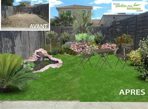 Exemple D Amenagement De Jardin Id 233 E D Am 233 Nagement D Un Petit Jardin Monjardin