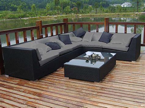 canap d angle jardin salon jardin quot maldives quot canapé d 39 angle table basse 51893