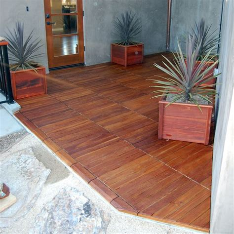 curupay outdoor wood deck tiles homeinfatuation