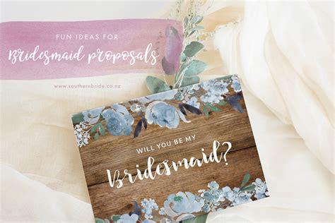 fun ways       bridesmaid southern bride