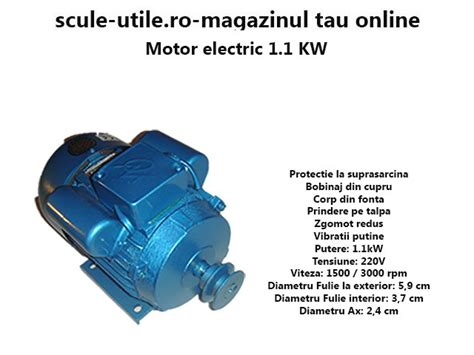 Motor Electric 11 Kw Pret by Motor Electric 1 1 Kw Scule Utile