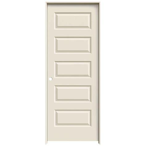 hollow interior doors home depot jeld wen 24 in x 80 in molded smooth 5 panel primed