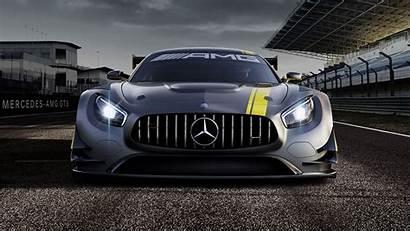 Amg Mercedes Wallpapers 4k Benz Gt3 Background