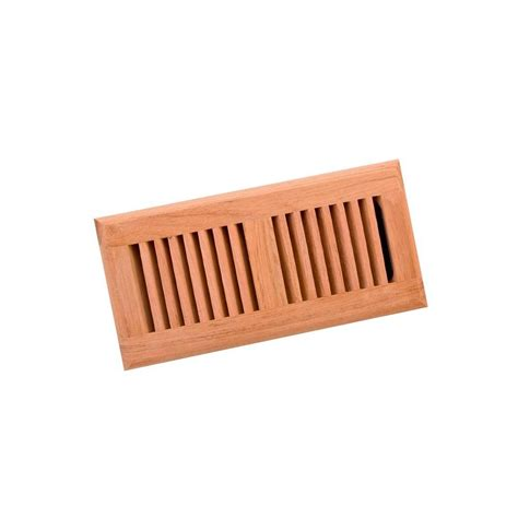 Wooden Floor Registers Home Depot by Surface Mount Floor Register Cherry