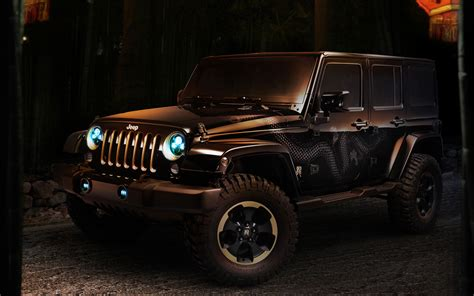 Jeep Wrangler Dragon Concept Wallpaper