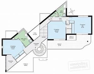 maison d39architecte 1 detail du plan de maison d With plan d architecte maison