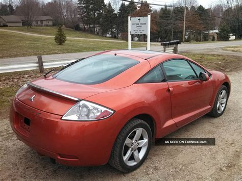 Mitsubishi 2 Door Coupe by 2007 Mitsubishi Eclipse Gs 2 Door Coupe 2 4 Liter 4