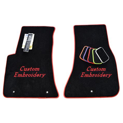 Alfa Romeo Floor Mats by Alfa Romeo Giulia Custom Carpet Floor Mats