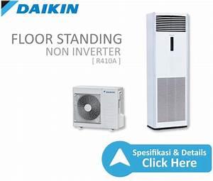 Ac Floor Standing Non Inverter R410a 6 Pk Wr
