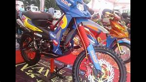 Honda Revo 100 Modifikasi Bebek Trail Enduro