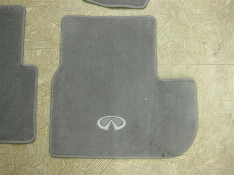 infiniti g35 floor mats logo 2005 infiniti g35 coupe floor mats oem meze