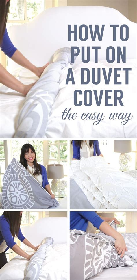 What Do You Put In A Duvet by And See The Easiest Way To Put On A Duvet Cover