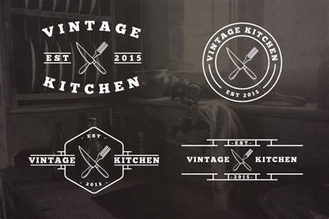 kitchen logos  editable psd ai vector eps